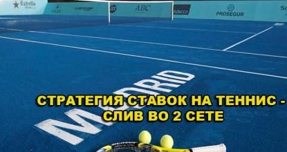 Стратегия Ставок В Тенисе