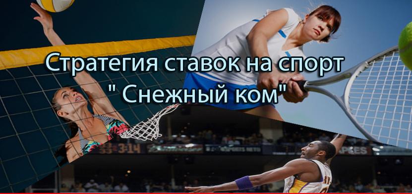 Стратегии для ставок на спорт 2016